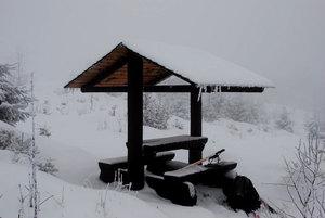 Odpočívadlo u chaty Česnečka